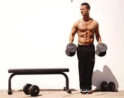 Evde vücut geliştirme antrenmanı